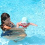 private swim lesson instructor