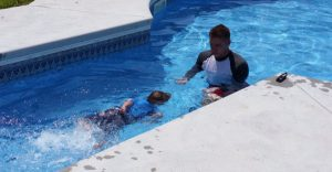 why private at home swim lessons are important this summer due to COVID-19