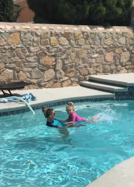 Backyard Swim Lessons