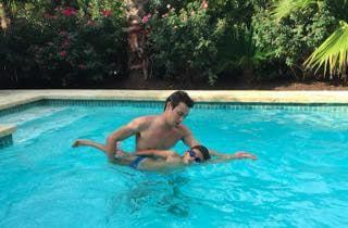 InstaSwim Instructor adam teaches
