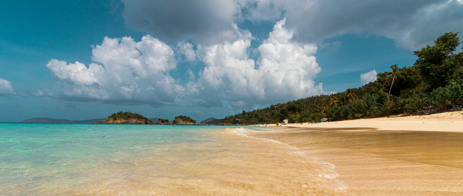 Top 5 Beaches 2021 Fiji US Virgin Islands