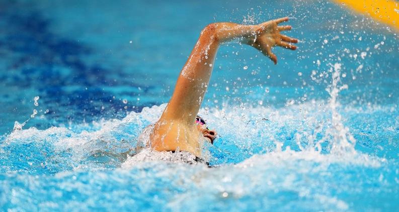 freestyle swim stroke