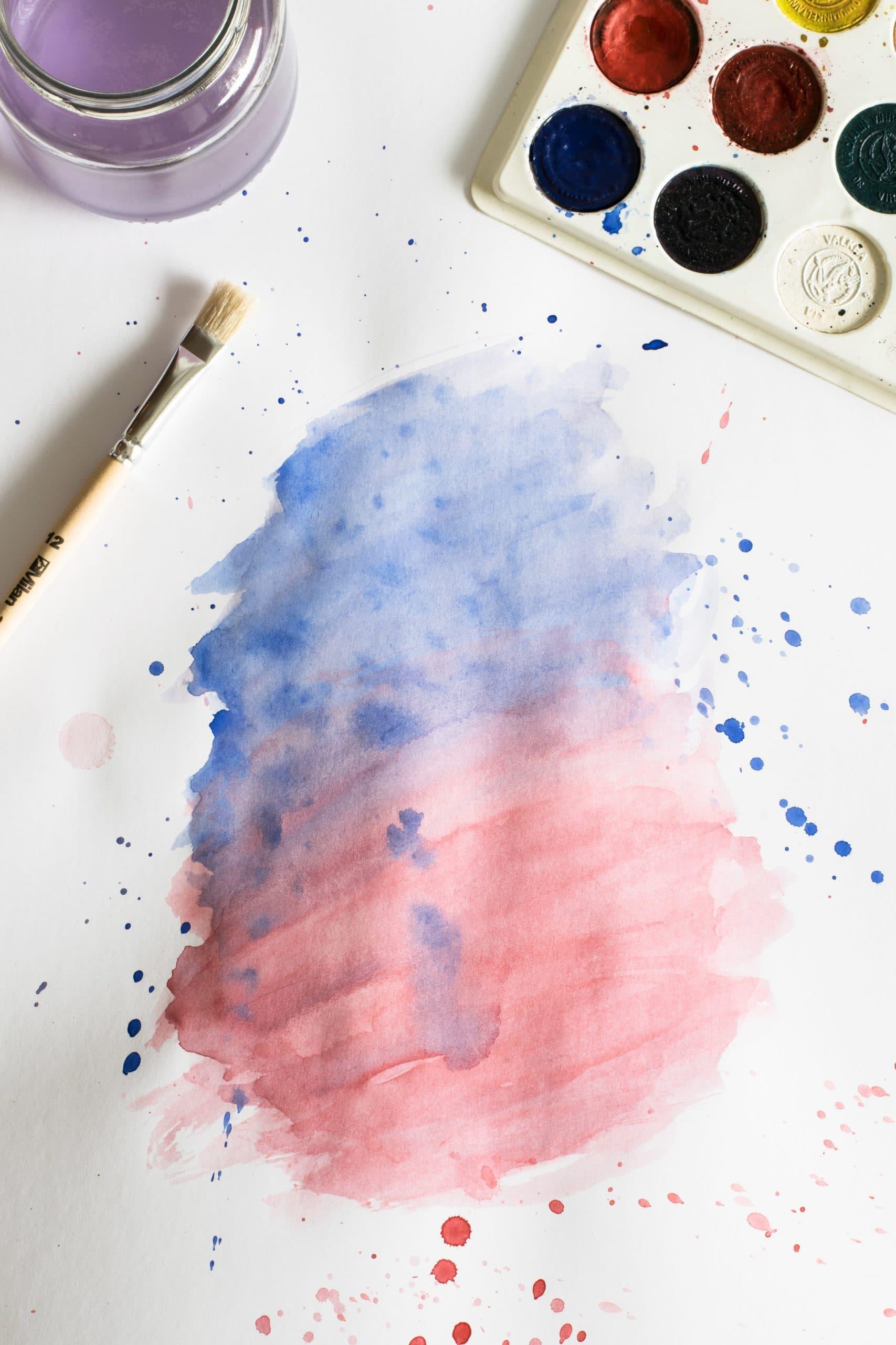 Homemade Watercolors