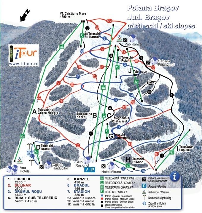 Poiană Brașov Ski Mountain