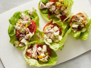 Keto Tuna Salad Cups