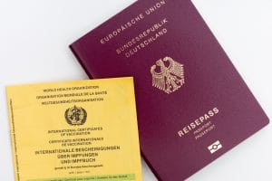 World Health Organisation Travel Passport