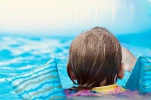 Girl In Swimming Classes for Kids