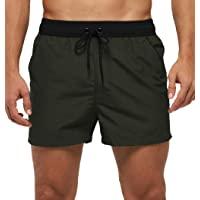 Green Swim Trunks For Men