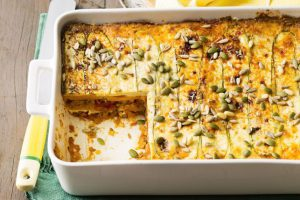 Pumpkin and zucchini 'no pasta' lasagna