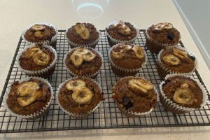 Banana Superfood Muffins, Healthy Cakes