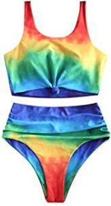 Rainbow Women's Swimwear