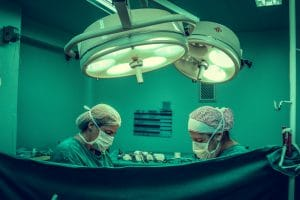 Surgeons Performing Weight Loss Surgery