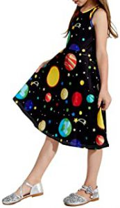 Space Themed Dress For Kids