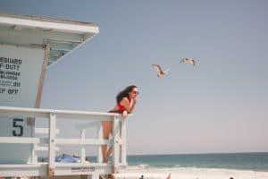 Lifeguard At The Beach