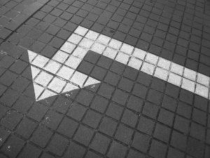 Street Arrow Pointing Left
