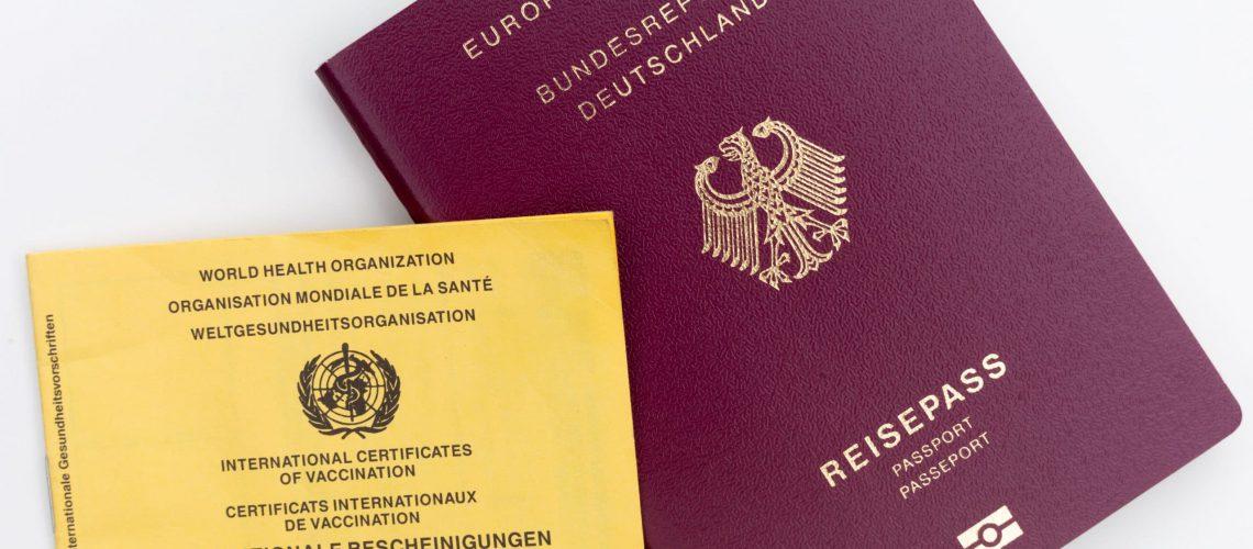 World Health Organisation Travel Passport